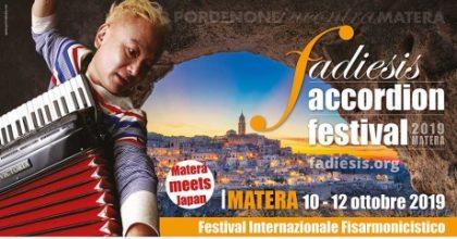 """""""Il clima che fa cultura"""" per il Fadiesis Accordion Festival - Matera"""