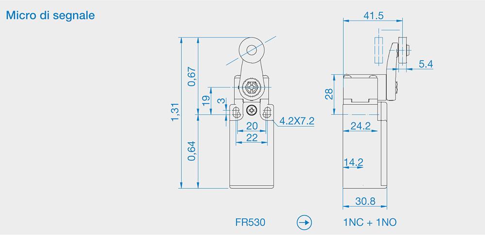 HFD-4 Micro di segnale