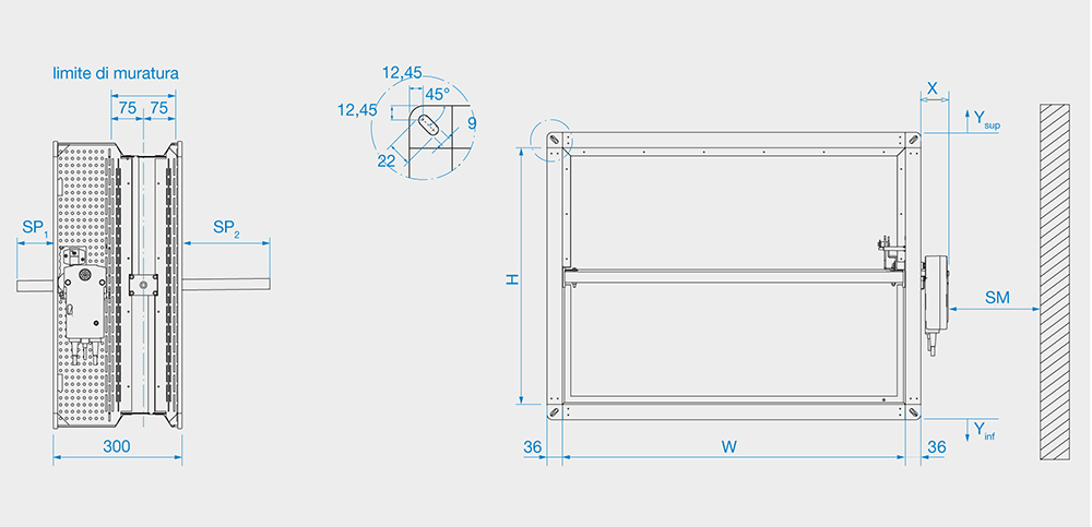 HFD serranda tagliafuoco tipologie e configurazioni