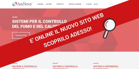 E' online il nuovo sito AerNova