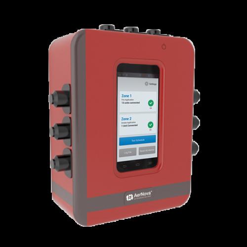 Pannello di comando e controllo per sistemi di evacuazione del fumo e del calore.