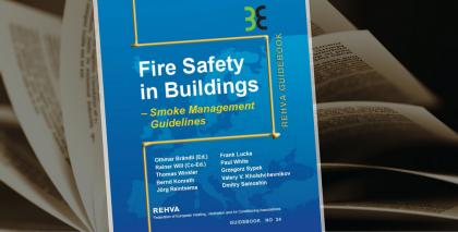 """Pubblicata la guida REHVA """"Fire Safety in Buildings"""""""