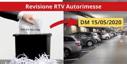 RTV Autorimesse 15 maggio 2020